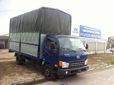 Thùng bạt xe hyundai hd72