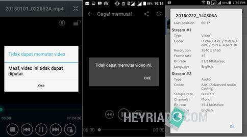Cara Memutar Video 4k di Android