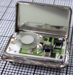 1 mhz crystal oscillator