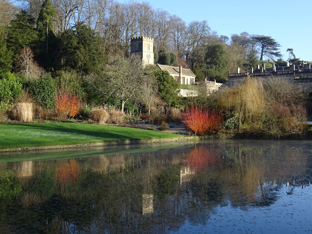 Dyrham Park,Dyrham,National Trust,garden,pond