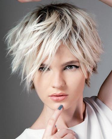 son cortes modernos para mujeres atrevidas y elegantes con un rostro especial y que les gusta llamar la atencin with cortes de pelo rubio