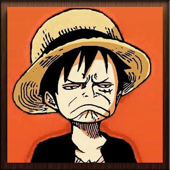 One Piece Monkey D. Luffy Triste - Avatar en HD