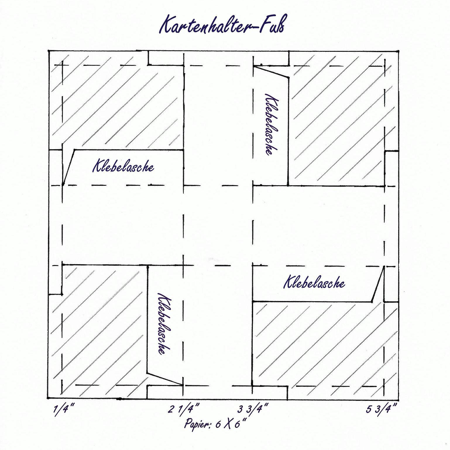 Eri\'s Kreativwerkstatt: Anleitung zum Kartenhalter