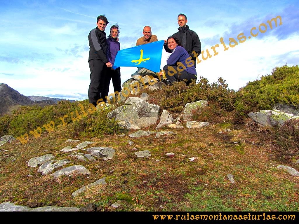 Foto de la cima de la Colladina
