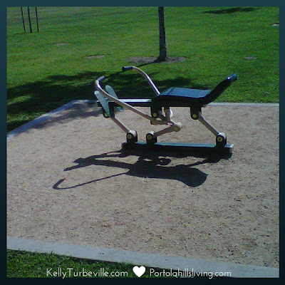 concourse park exercise equipment by kelly turbeville