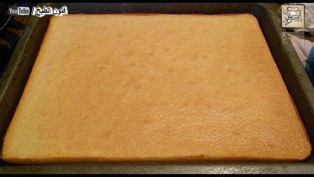 جينواز,الكيك الاسفنجي,الكيك,génoise,cake génoise