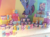 My Little Pony The Movie Premiere - Buckets and Bottles Display