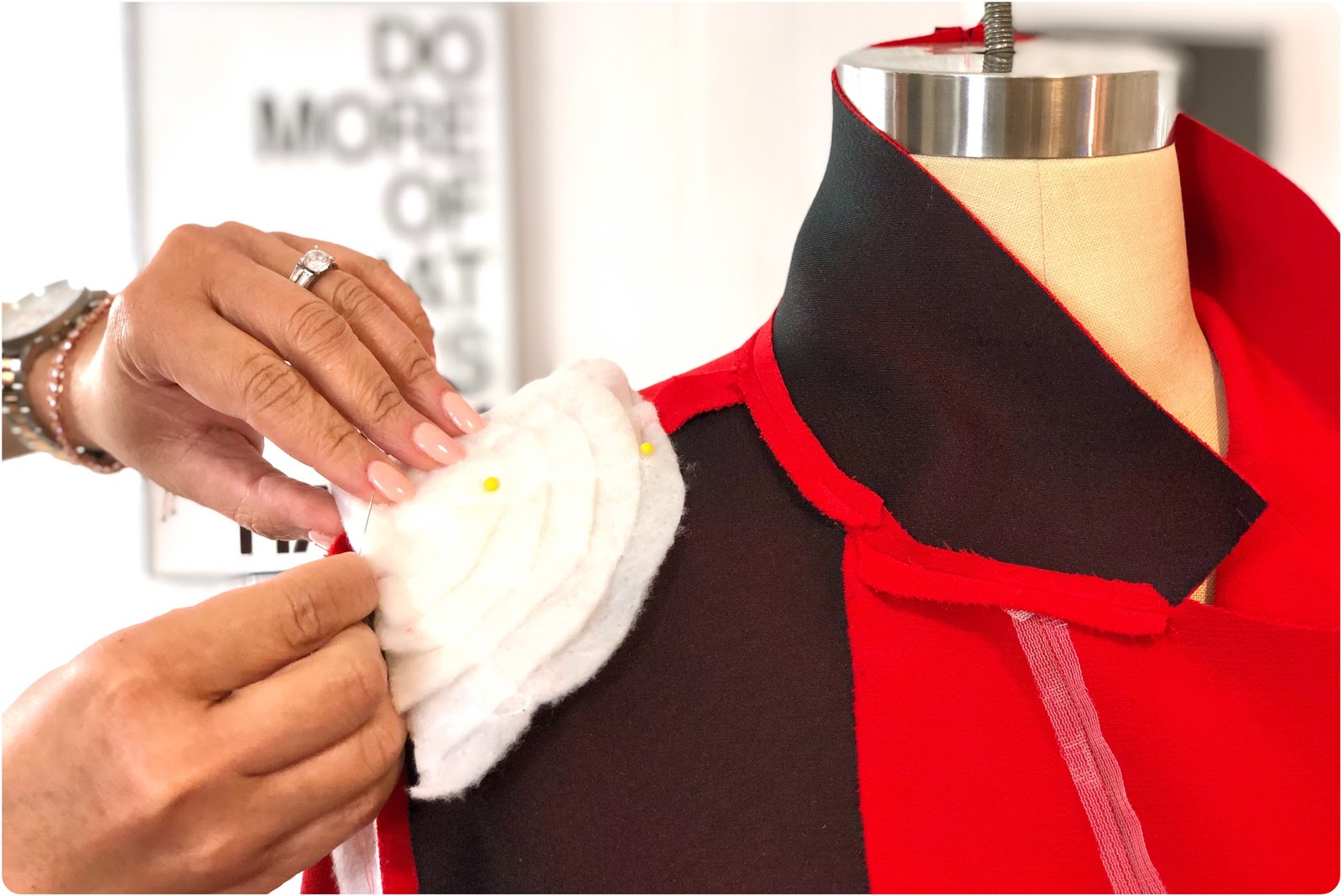 Custom Shoulder Pads Tutorial - Erica Bunker DIY Style!