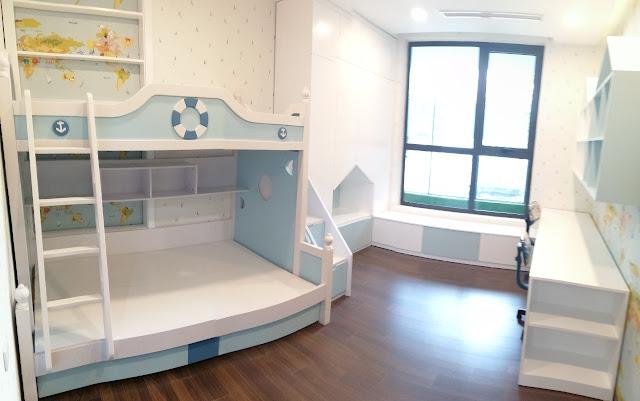 Hình ảnh phòng ngủ nhỏ nhà mẫu dự án DLC Complex