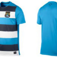 611e24de8 Nike Manchester City 13 14 Training Shirts Leaked · After the new FC  Barcelona ...