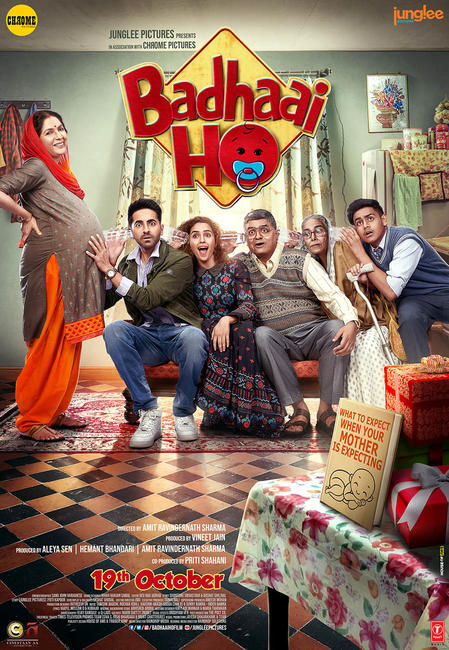 Badhaai Ho (2018) Hindi Movie HDRip | 720p | 480p