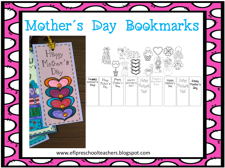 esl efl preschool teachers mother s day activities for the ell. Black Bedroom Furniture Sets. Home Design Ideas