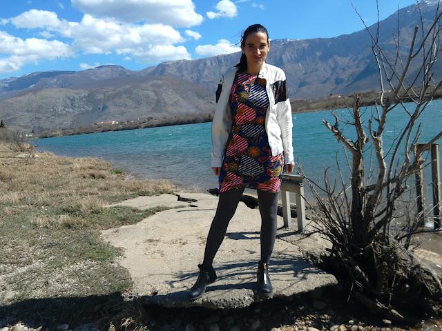 artificial lake Mostar