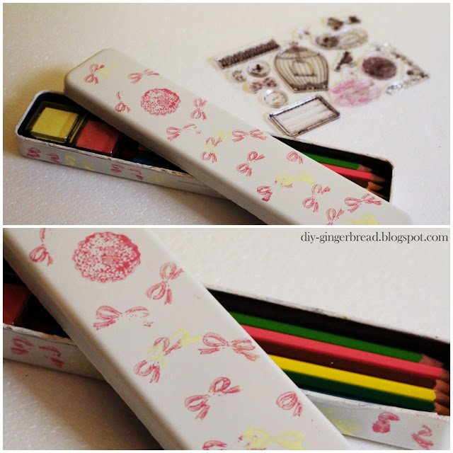 Handmade gifts small gift ideas for women pencil box for Homemade christmas gifts for women