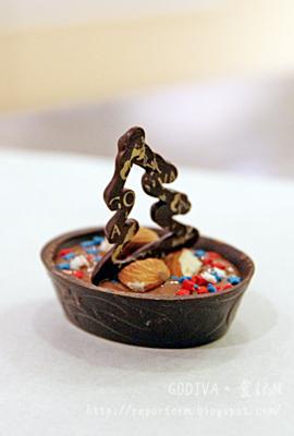 食記M的雜碎生活: 2012年首份聖誕禮物~GODIVA朱古力教室