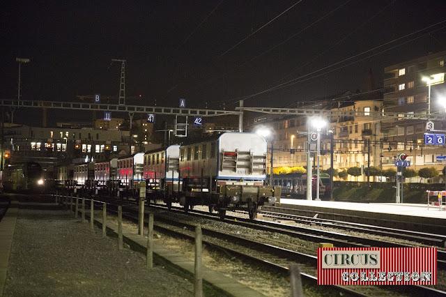 manoeuvre des trains en gare de Fribourg
