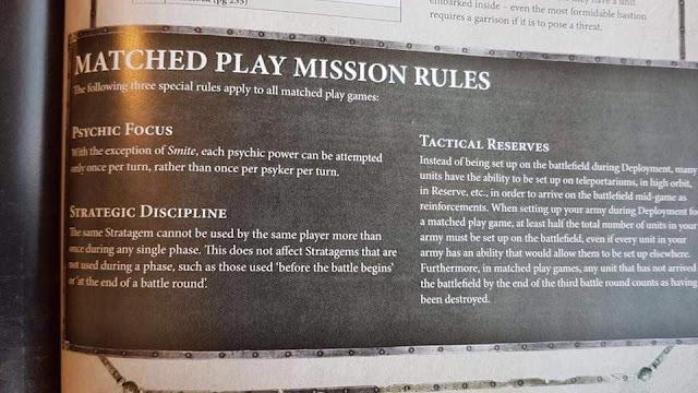 Misiones Warhammer 40000