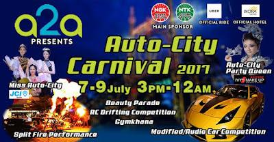Uber Promo Code Penang Auto-City Carnival 2017