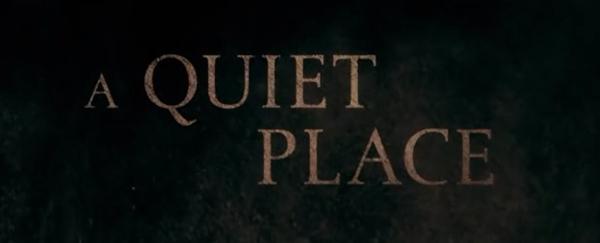Ribut Berarti Mati dalam A Quiet Place