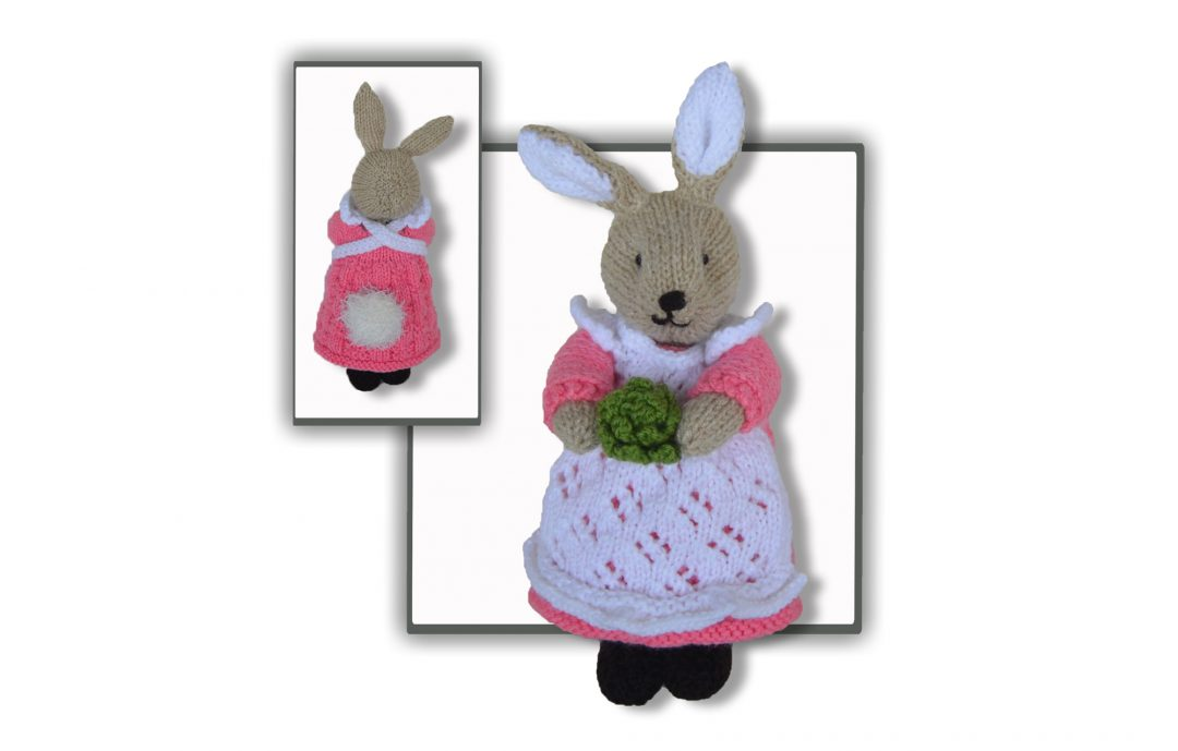 Peter Bunny Rabbit Knitted Toy Pattern