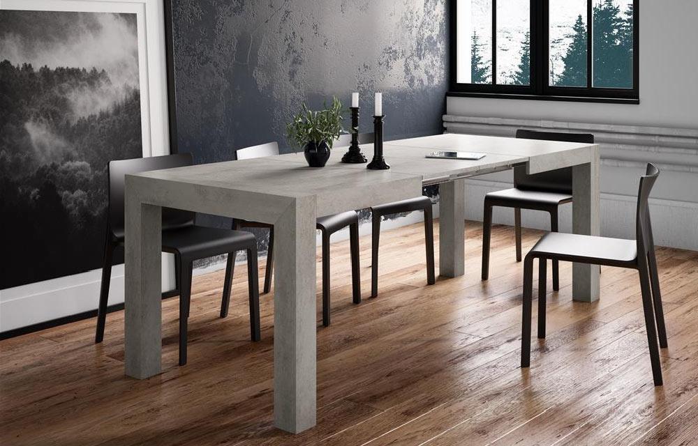 tavolo moderno allungabile Iacopo Mobili Fiver