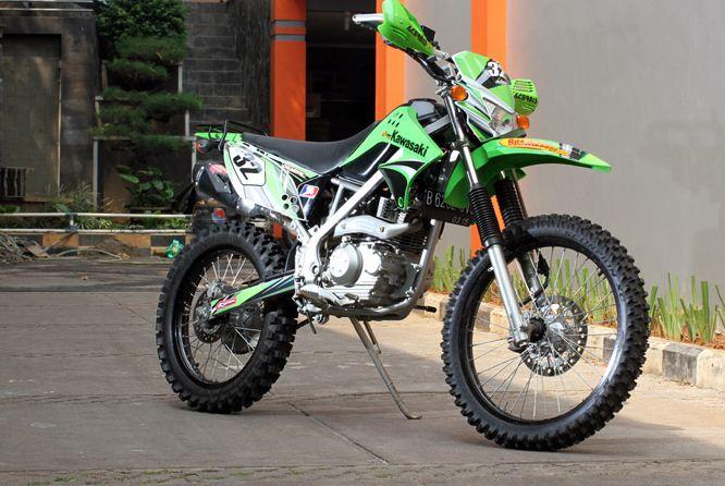 Modifikasi Kawasaki KLX 150 Adventure
