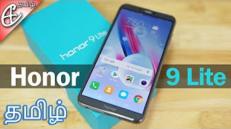 Honor 9 Lite (4 Cameras | 18:9 FullView | Kirin 659) – Unboxing & Benchmarks! | Tamil