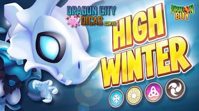 Dragão Inverno Nobre - Novo Heroico!