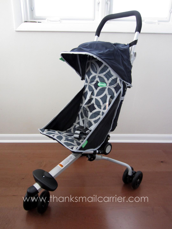 Thanks, Mail Carrier | QuickSmart Backpack Stroller {Review}
