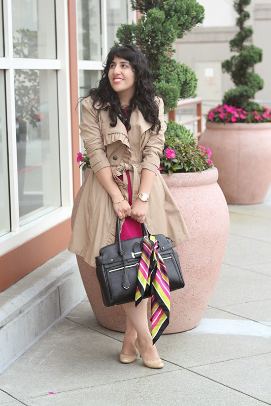Anthropologie elevenses Trench Coat Work Outfit | Will Bake for Shoes