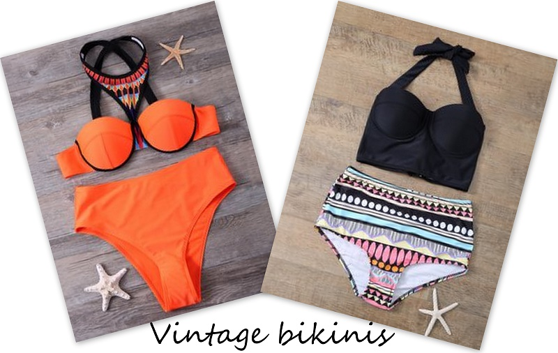 zaful vintage bikinis giveaway