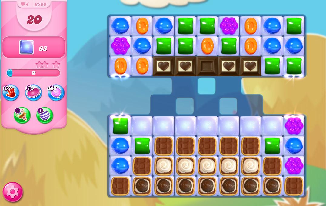 Candy Crush Saga level 6533