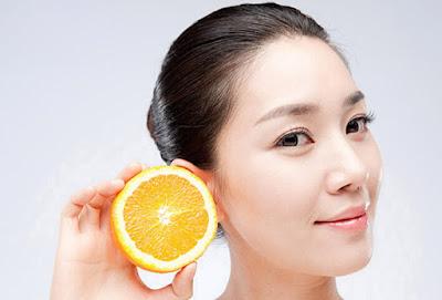 kulit bersih dengan lemon