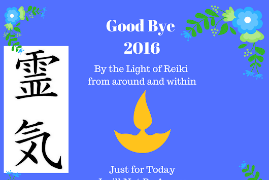 Meditating on the 5 Reiki Principles for the New Year