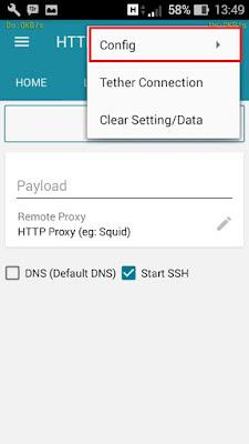 cara internetan gratis di android menggunakan http injector