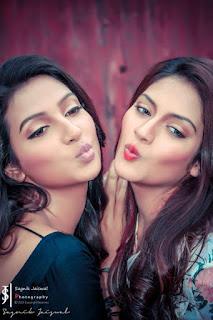 Nusrat Jahan Indian Bengali Actress Biography, Hot Photos With Actress Mimi Chakraborty (Kissing)