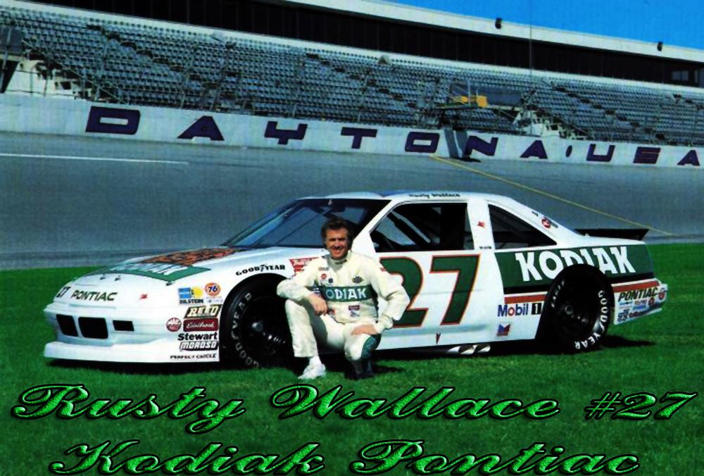 Nascar Racing Champions Blog Rusty Wallace 27 Kodiak Pontiac