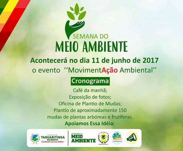 Semana do Meio Ambiente terá Exposição de fotos e reflorestamento em Taquaritinga do Norte