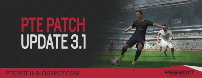 PES 2017 PTE Patch Update 3.1