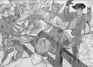 vintage gay male spanking
