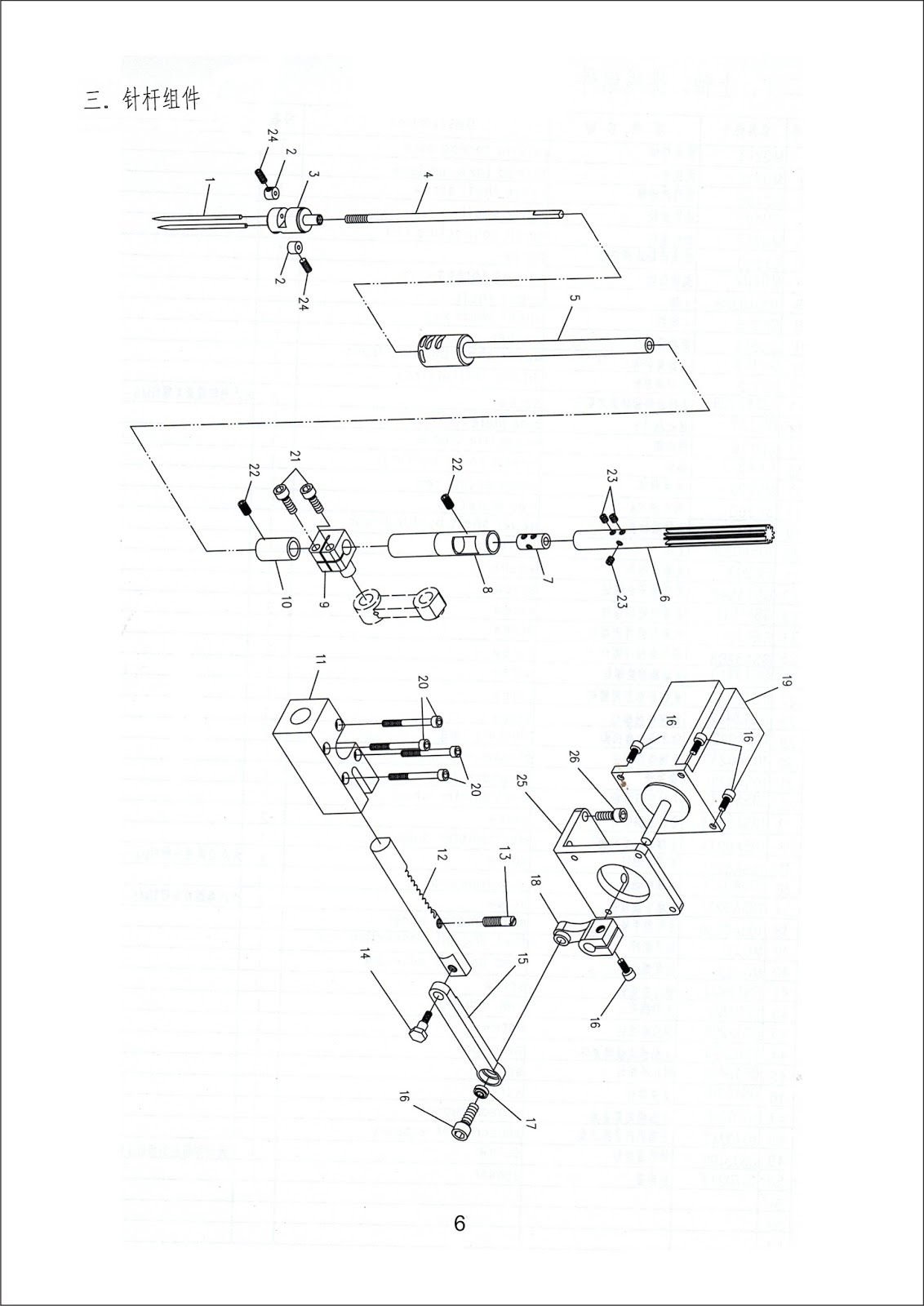 Heavy Duty Industrial Sewing Machines Parts Manual For
