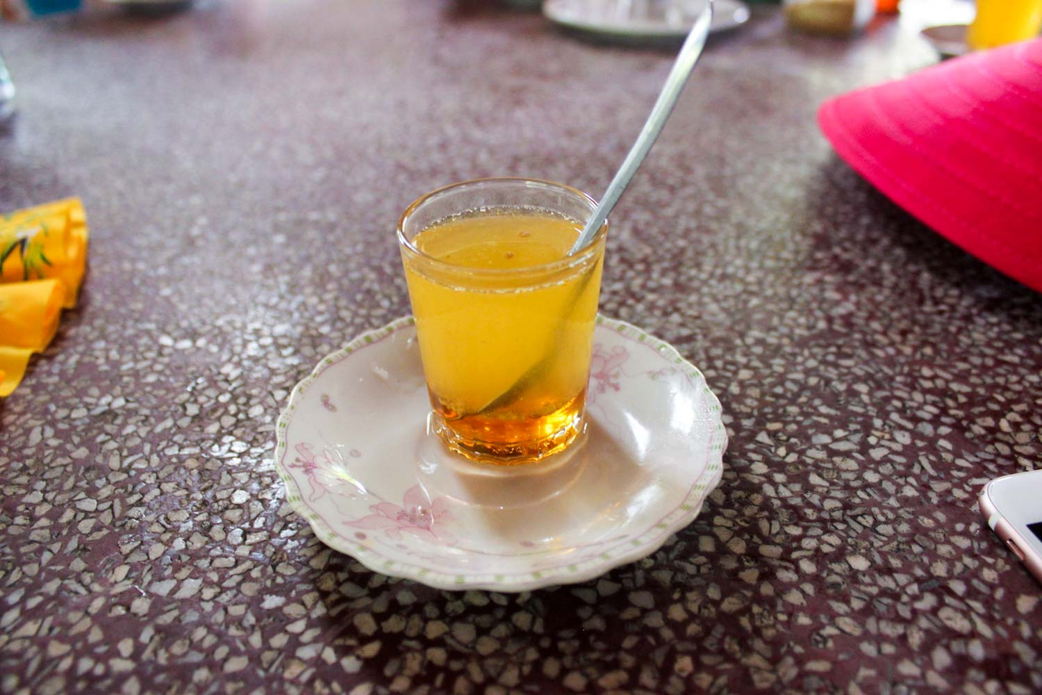 honey kumquat tea vietnam