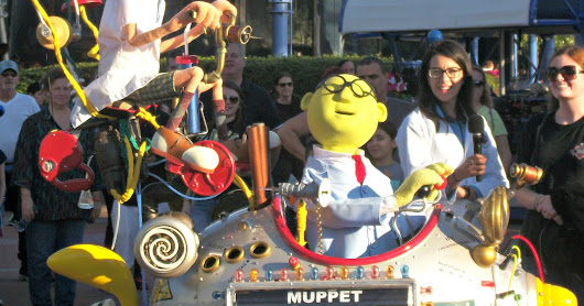 The Muppets Mobile Lab