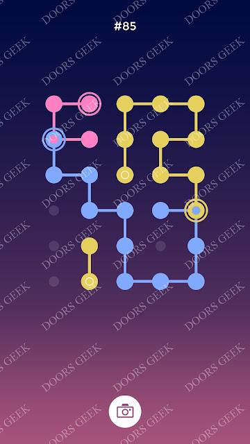 ◉ Connection Level 85 Solution, Cheats, Walkthrough