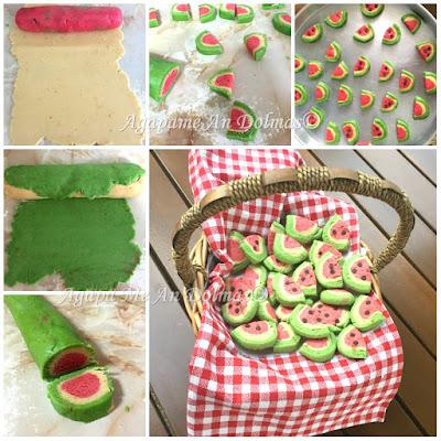 μπισκότα καρπουζι
