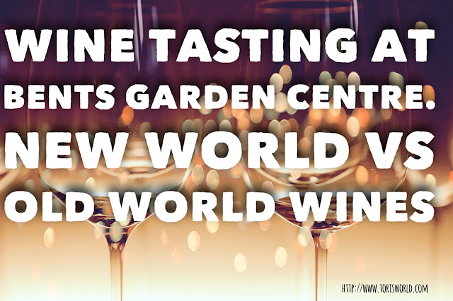 I attended an Old World vs New World wine tasting at Bents Garden Centre and discovered, to my surprise, that I preferred the Old World Wine! #Oldworldwine #winetasting #foodbloggers