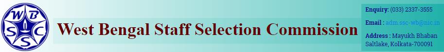 WBSSC Group - C Recruitment Notification 2016 Apply Online