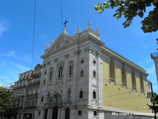 Igreja de Nossa Senhora de la Encarnacao, Chiado, Lisboa