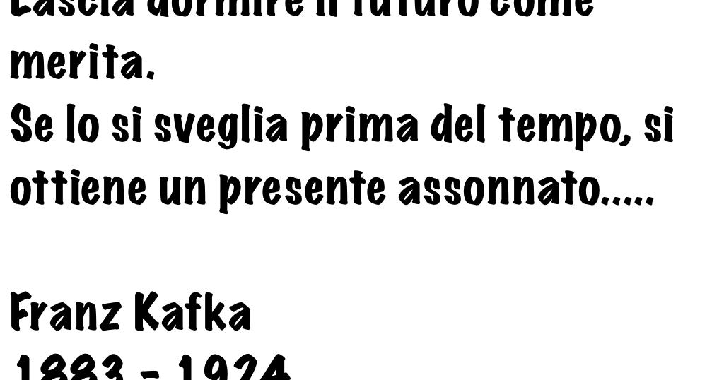 Frasi Compleanno Kafka