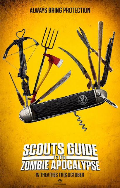 Sinopsis Film Scouts Guide to the Zombie Apocalypse (2015)